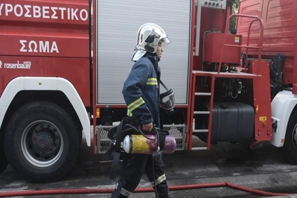 Συναγερμός από φωτιά στην Πανεπιστημιούπολη!