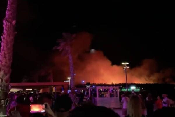 Πυρκαγιά σε μουσικό φεστιβάλ στην Κροατία! (Video)