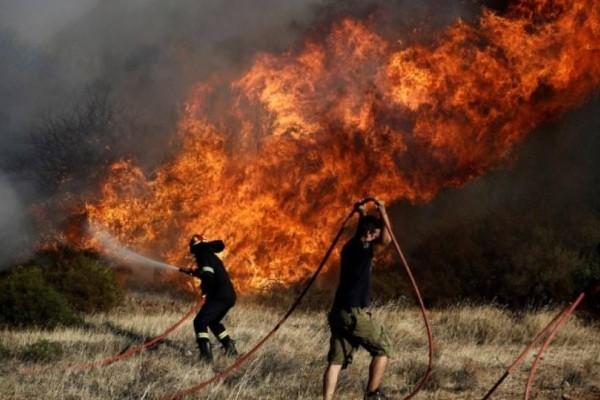Μεγάλη φωτιά στους Αγίους Θεοδώρους!