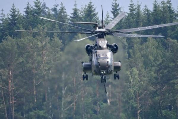 Γερμανία: Συνετρίβη στρατιωτικό ελικόπτερο! - Τουλάχιστον ένας νεκρός!