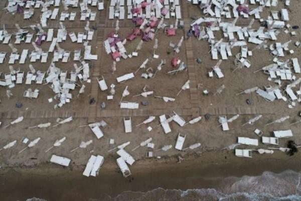 Χαλκιδική: Το μέγεθος της καταστροφής από αεροφωτογραφίες!