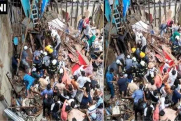 Παρολίγον τραγωδία με δεκάδες εγκλωβισμένους έπειτα από κατάρρευση κτιρίου!