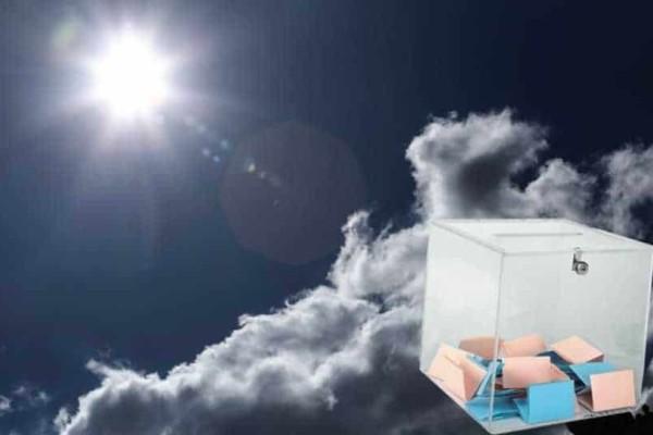 Ο καιρός την ημέρα των εκλογών: Θερμή εισβολή σε πολλές περιοχές!