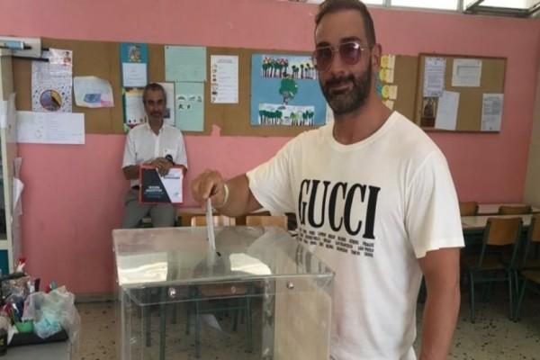 Νίκος Κοκλώνης: Άσκησε το εκλογικό του δικαίωμα! Τι ψήφισε;