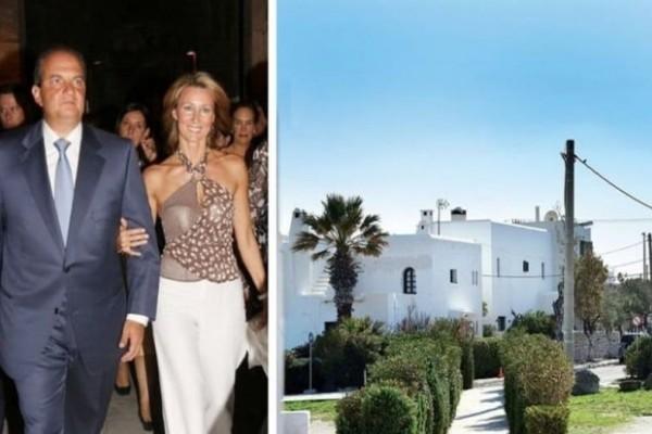 Σύγχρονο παλάτι για Καραμανλή - Παζαΐτη: Δείτε το εντυπωσιακό εξοχικό τους στην Ραφήνα!