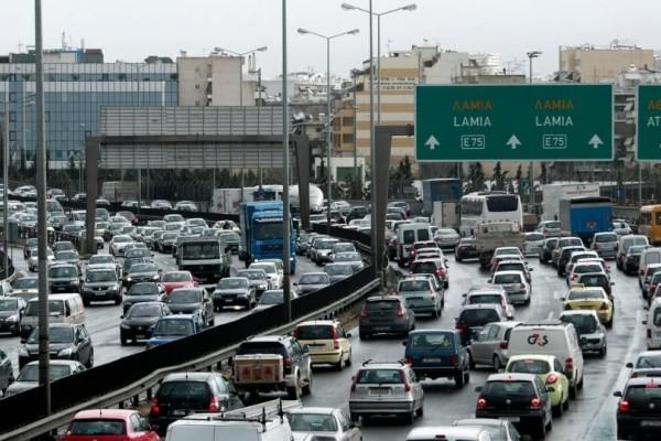 Αυξημένη κίνηση στους δρόμους! Που υπάρχει πρόβλημα;