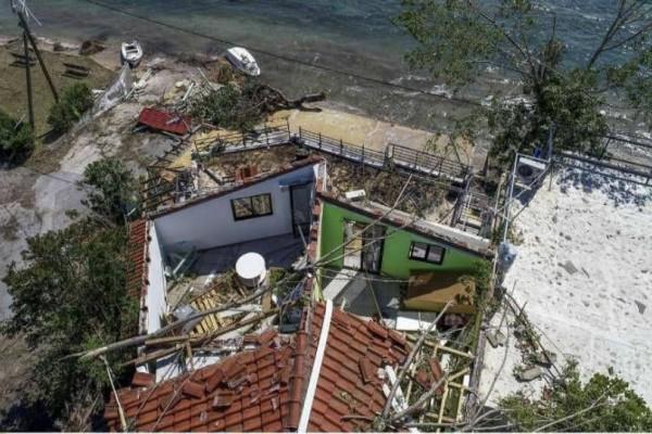 Χαλκιδική: Μέχρι το βράδυ θα έχουν αποκατασταθεί οι ζημιές!