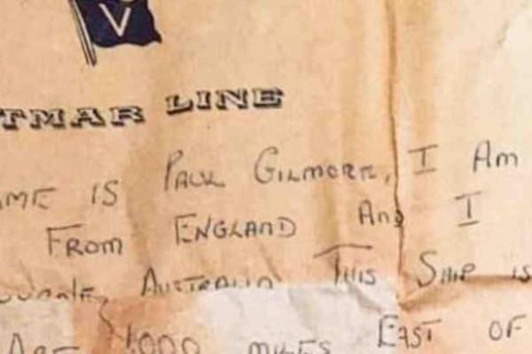 Μήνυμα σε μπουκάλι βρήκε τον αποστολέα του 50 χρόνια μετά!