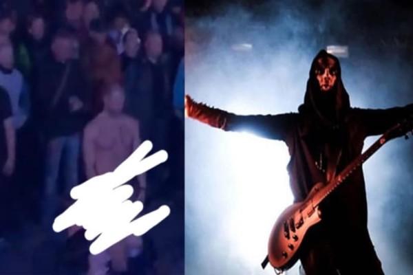 Απίστευτο: Έκανε στοματικό στον σύντροφό της μέσα σε μέταλ συναυλία! (Video)