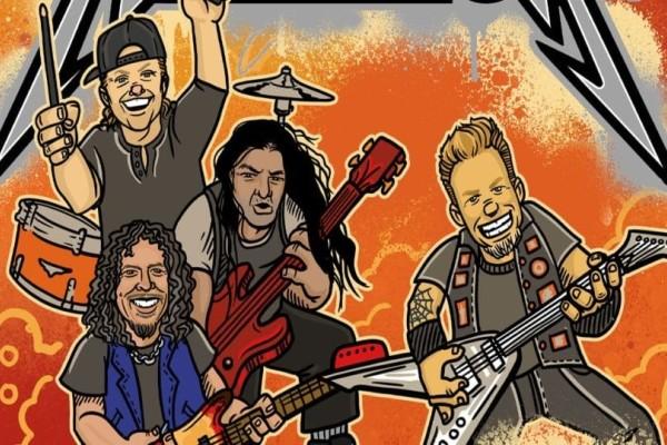 Οι Metallica θα κυκλοφορήσουν...παιδικό βιβλίο!