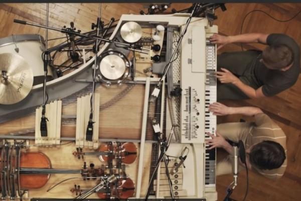Mπάντα από την Ουκρανία κατασκεύασε το πιο περίεργο μουσικό όργανο! (Video)