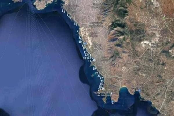 SOS από τον ΠΑΚΟΕ: Μολυσμένες 16 παραλίες από τον Φλοίσβο ως το Καβούρι!