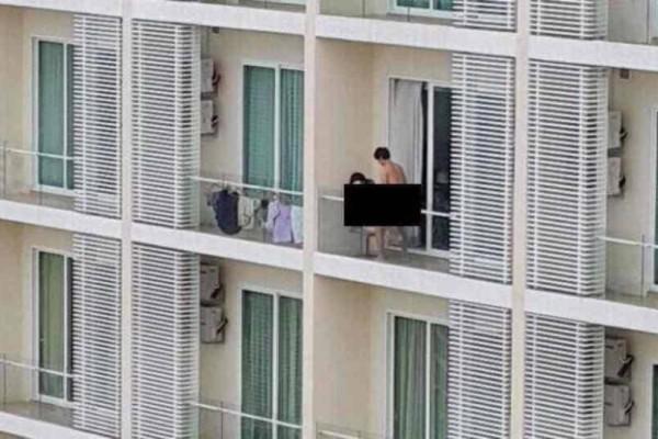 Αδιανόητο: Έκαναν σ3ξ στο μπαλκόνι και η σύντροφός του έπεσε από τον 9ο και σκοτώθηκε!