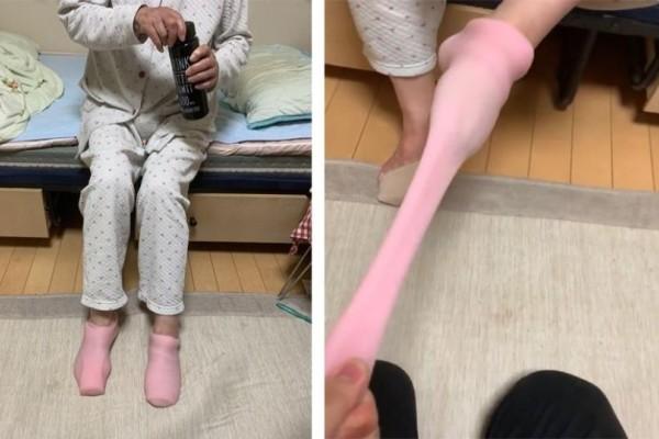 Αυτή η γιαγιά μπέρδεψε τα s@x toys του εγγονού της με κάλτσες!