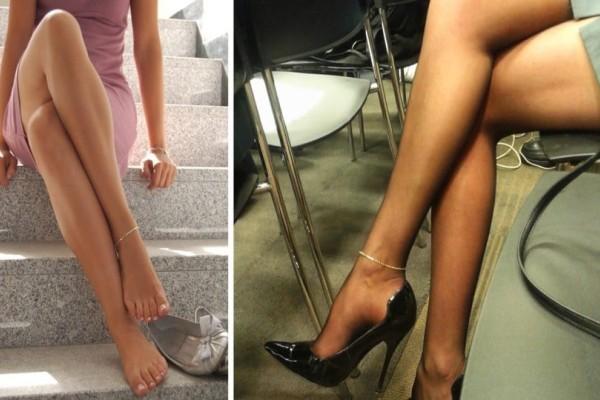 Τι συμβολίζουν τα βραχιολάκια στο πόδι; Μόλις μάθετε, ίσως το σκεφτείτε διπλά... (photos)