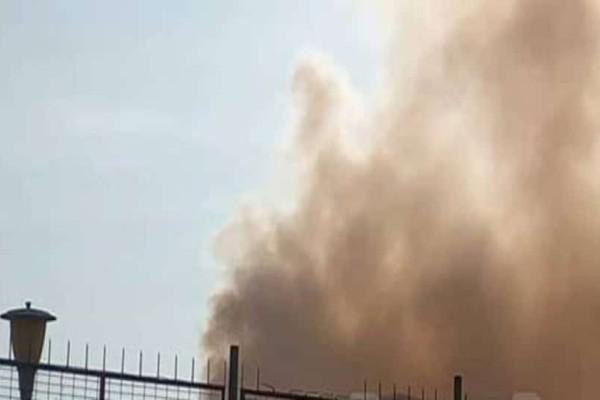 Μεγάλη φωτιά σε αποθήκη στην Πρέβεζα!