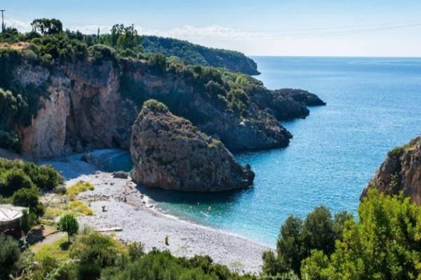Η φωτογραφία της ημέρας: Η παραλία του Φονέα στην Μεσσηνία!