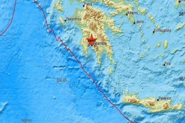 Σεισμός στην Καλαμάτα!