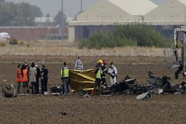 Νεκρός ο πιλότος από την συντριβή του στρατιωτικού αεροσκάφους στην Ισπανία!