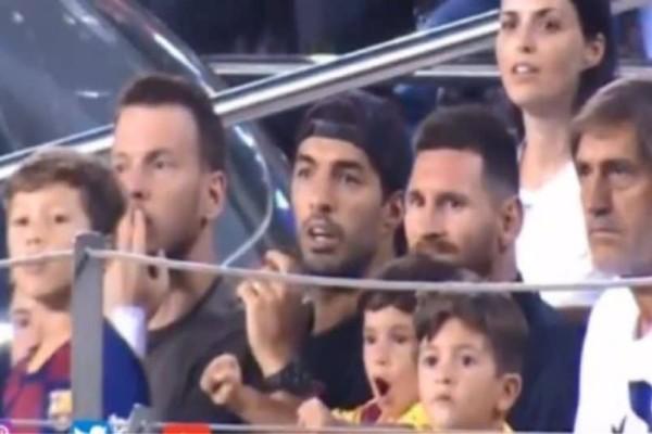 Απίστευτος: Ο γιος του Μέσι πανηγύρισε το γκολ της Μπέτις! (Video)