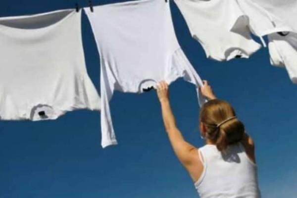 Πως να διατηρήσεις λευκά τα ρούχα σου! Σου έχουμε τη λύση!