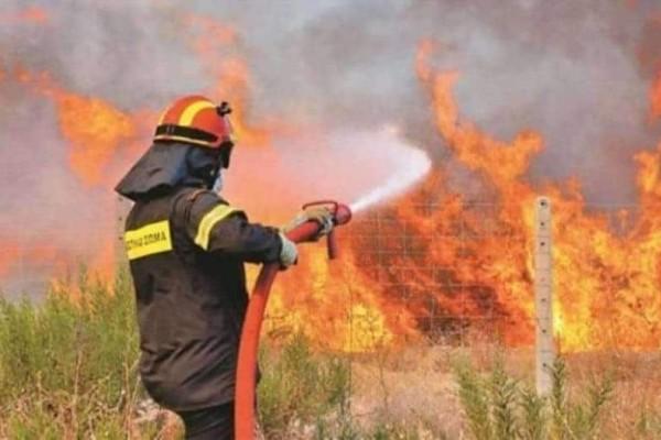 Φωτιά στο Μελίσσι Κορινθίας!