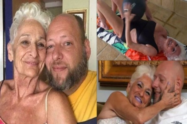 82χρονη γυμνάζεται καθημερινά για να αντέχει στο κρεβάτι με τον 39χρονο σύντροφό της!