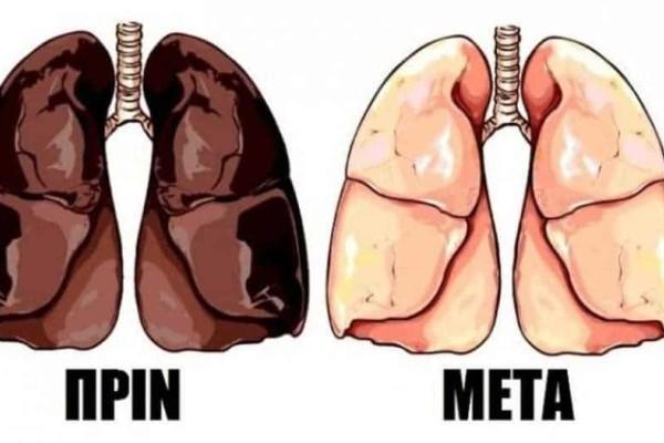 Καθαρά πνευμόνια χωρίς να κόψετε το τσιγάρο!