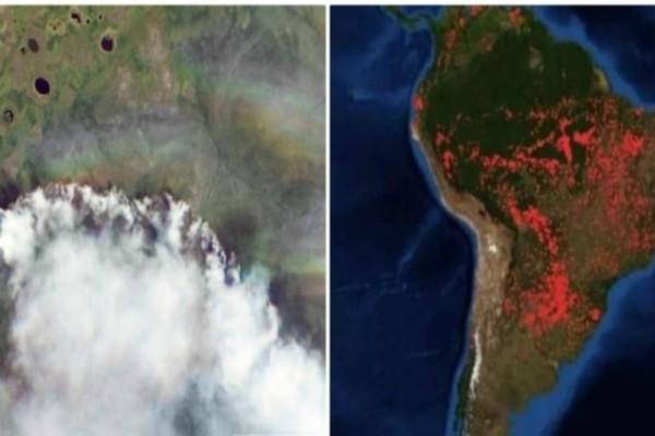 Να ήταν μόνο η Ελλάδα: Η τραγωδία στον Αμαζόνιο ξεπερνά κάθε περιβαλλοντική πανωλεθρία!