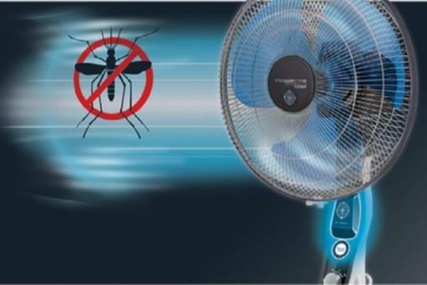 Το απίστευτο κόλπο με τον ανεμιστήρα για να εξοντώνετε τα κουνούπια