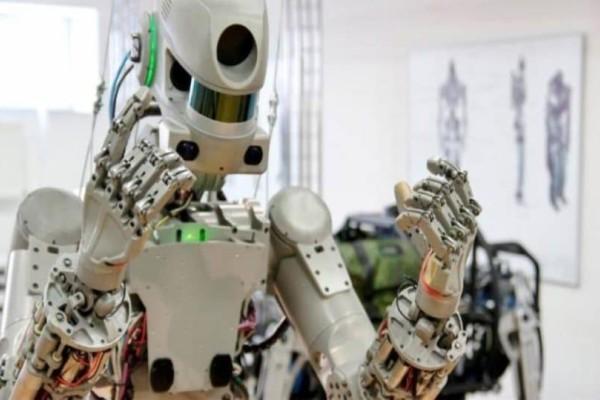 Το πρώτο ρωσικό ανθρωποειδές ρομπότ έφτασε στον Διεθνή Διαστημικό Σταθμό!