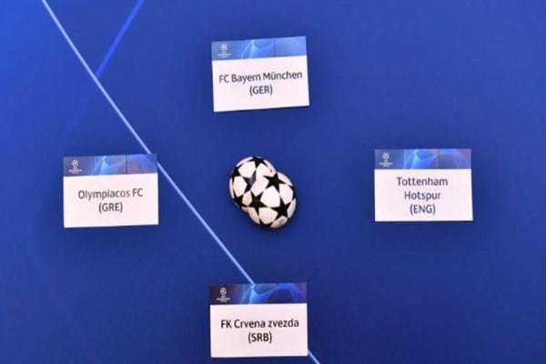 Champions League: Αυτό είναι το πρόγραμμα του Ολυμπιακού στους ομίλους!