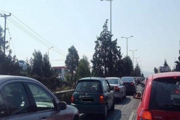 Καραμπόλα στον Περιφερειακό Θεσσαλονίκης!
