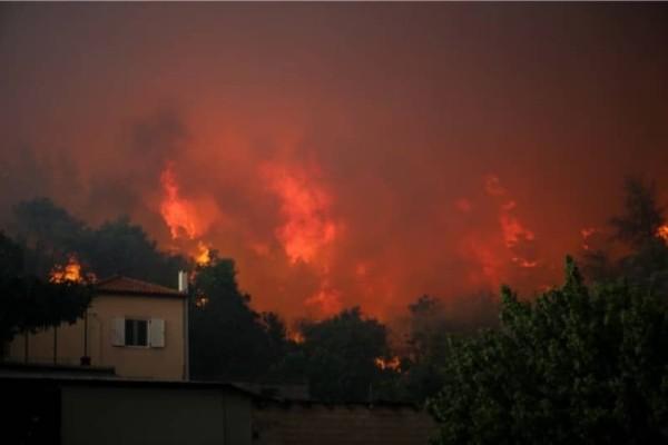 Νέο μέτωπο φωτιάς στην Εύβοια: Φλόγες και στην Ιστιαία!