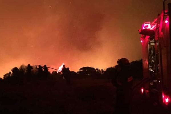 Φωτιά στα Κύθηρα: Καίγεται δάσος!