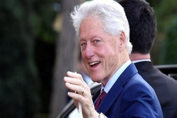 Περίεργος πίνακας στην έπαυλη του Έπσταϊν δείχνει τον Μπιλ Κλίντον με φόρεμα και γόβες! (photo)