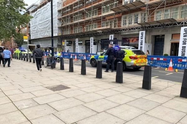 Συναγερμός στο Λονδίνο: Επίθεση με μαχαίρι έξω από το υπουργείο Εσωτερικών! (photos)