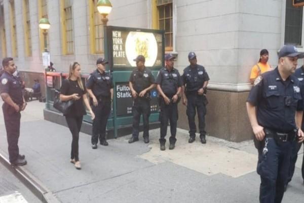 Συναγερμός στο Μανχάταν λόγω ύποπτου αντικειμένου σε σταθμό του μετρό! (photos-video)