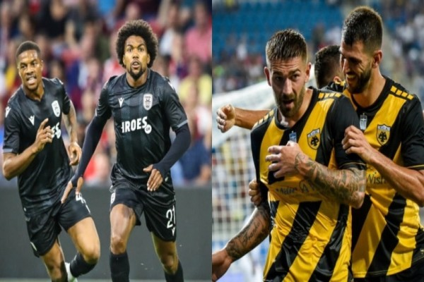 Super League: ΠΑΟΚ και ΑΕΚ ρίχνονται  στη μάχη του πρωταθλήματος!