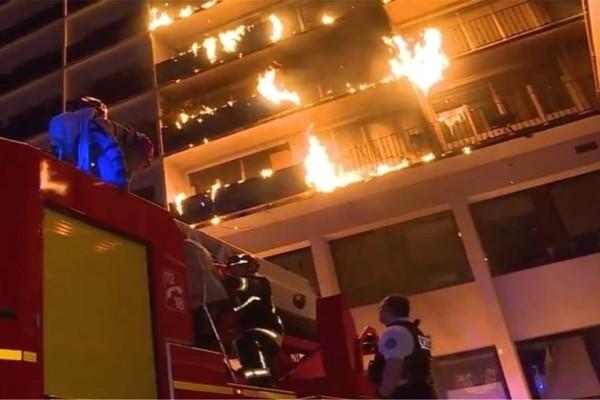 Παρίσι: Φωτιά σε νοσοκομείο - Ένας νεκρός! (photo-video)