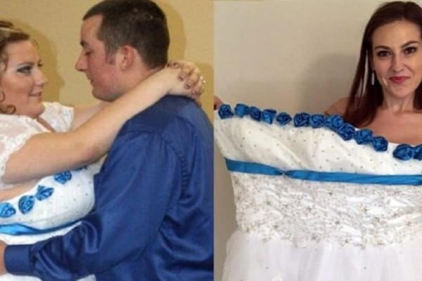 Στο γάμο της ακούστηκαν πολλά για την εμφάνισή της! 5 χρόνια μετά έχοντας ξοδέψει 15.000€, είναι μια κούκλα!