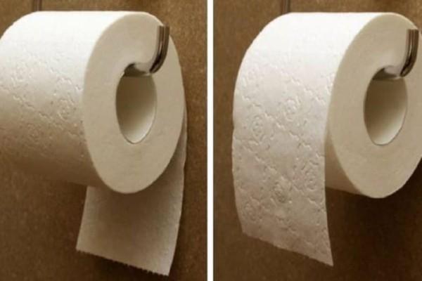 Το χαρτί υγείας είναι επικίνδυνο για την υγεία μας αν το βάζουμε έτσι!