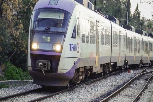 Βλάβη στο τρένο Αθήνα - Θεσσαλονίκη: Ακινητοποιήθηκε για μιάμιση ώρα στις Αφίδνες!