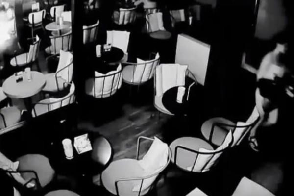 Σοκ: Κινητό εξερράγη σε καφετέρια! (Video)