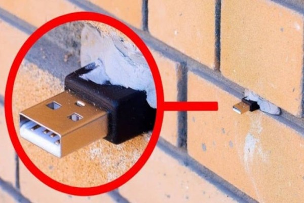 Συναγερμός: Εάν βρείτε usb σε έναν τοίχο μην το τραβήξετε!