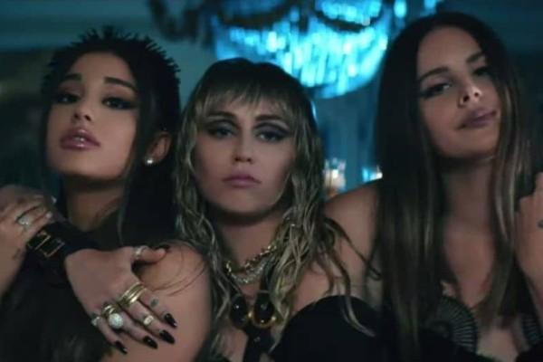 Αυτό δεν το περιμέναμε: Ariana Grande, Miley Cyrus και Lana Del Rey σε μια επική συνεγαρσία!