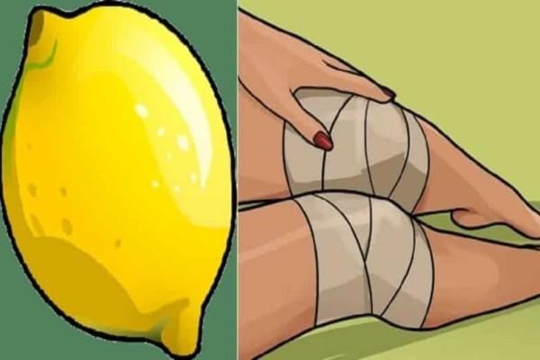 Πως με ένα λεμόνι θα ξεχάσεις τους πόνους στα γόνατα!
