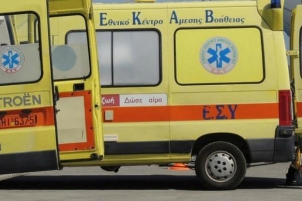 Τροχαίο στην Κορίνθου – Πατρών: Συγκρούστηκαν βαν με φορτηγό! (photo-video)