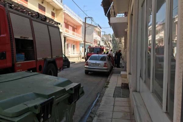 Συναγερμός στη Λάρισα: Έκρηξη σε σπίτι!  (photos)