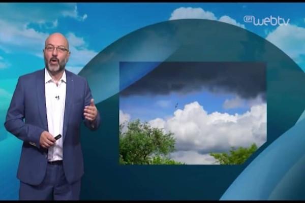 Ασταθής ο καιρός με σποραδικές μπόρες! Ο Σάκης Αρναούτογλου προειδοποιεί! (Video)